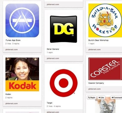 Even Microsoft can't get its brands on Pinterest...great scoop by Lauren Orsini.