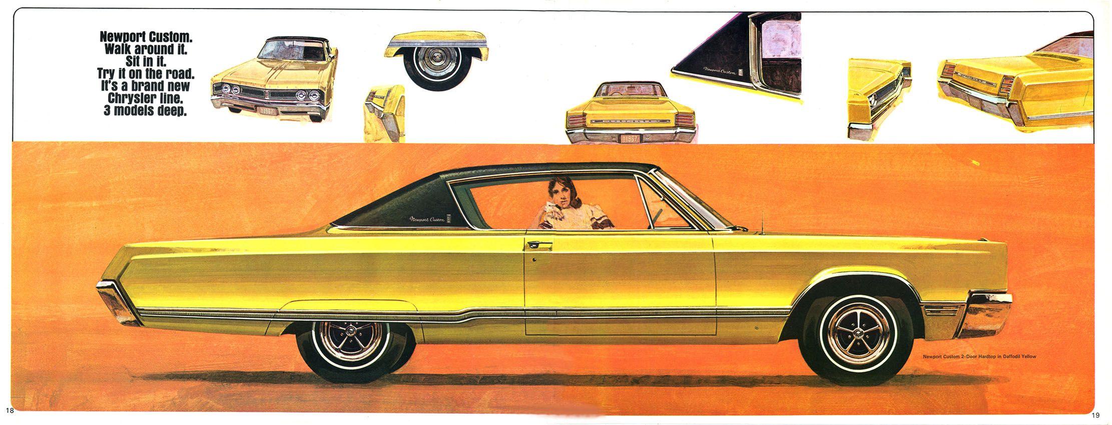 1967 Chrysler Newport Custom Two Door Hardtop Chrysler Newport