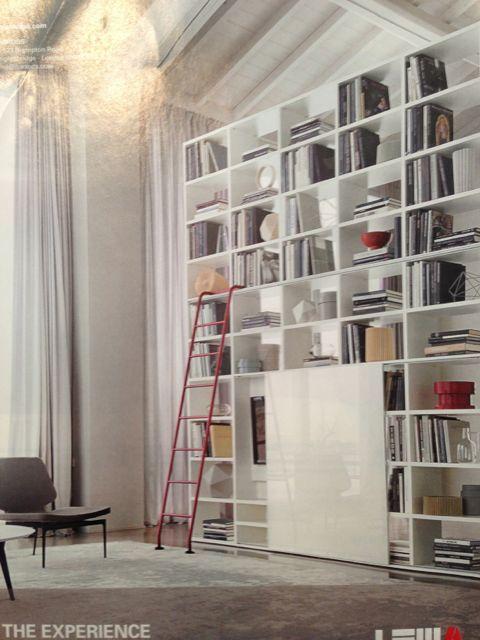 grote boekenkast als afscheiding