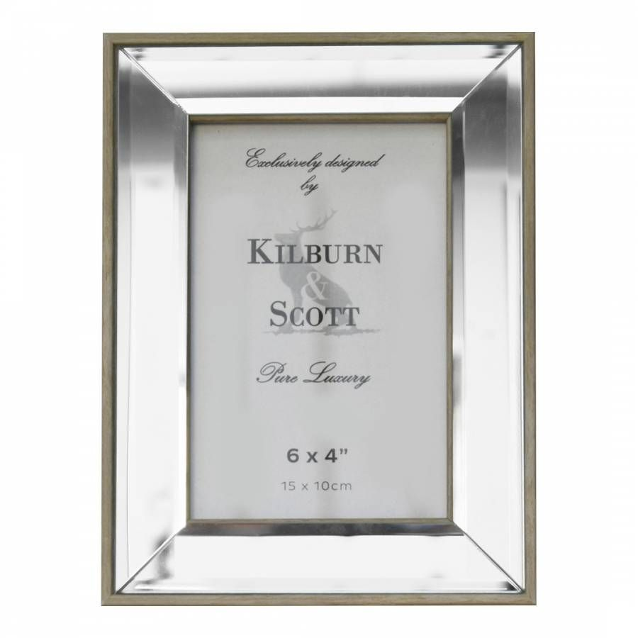 Gallery Mappleton Photo Frame 10x15cm Frame Beveled Glass Glass