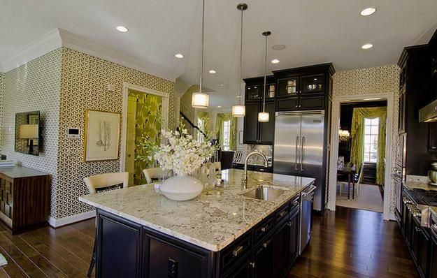 Beautiful wallpapers and kitchen accent wall design ideas for Kitchen accent wall
