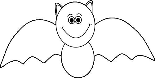 Black And White Halloween Bat Halloween Clip Art Halloween