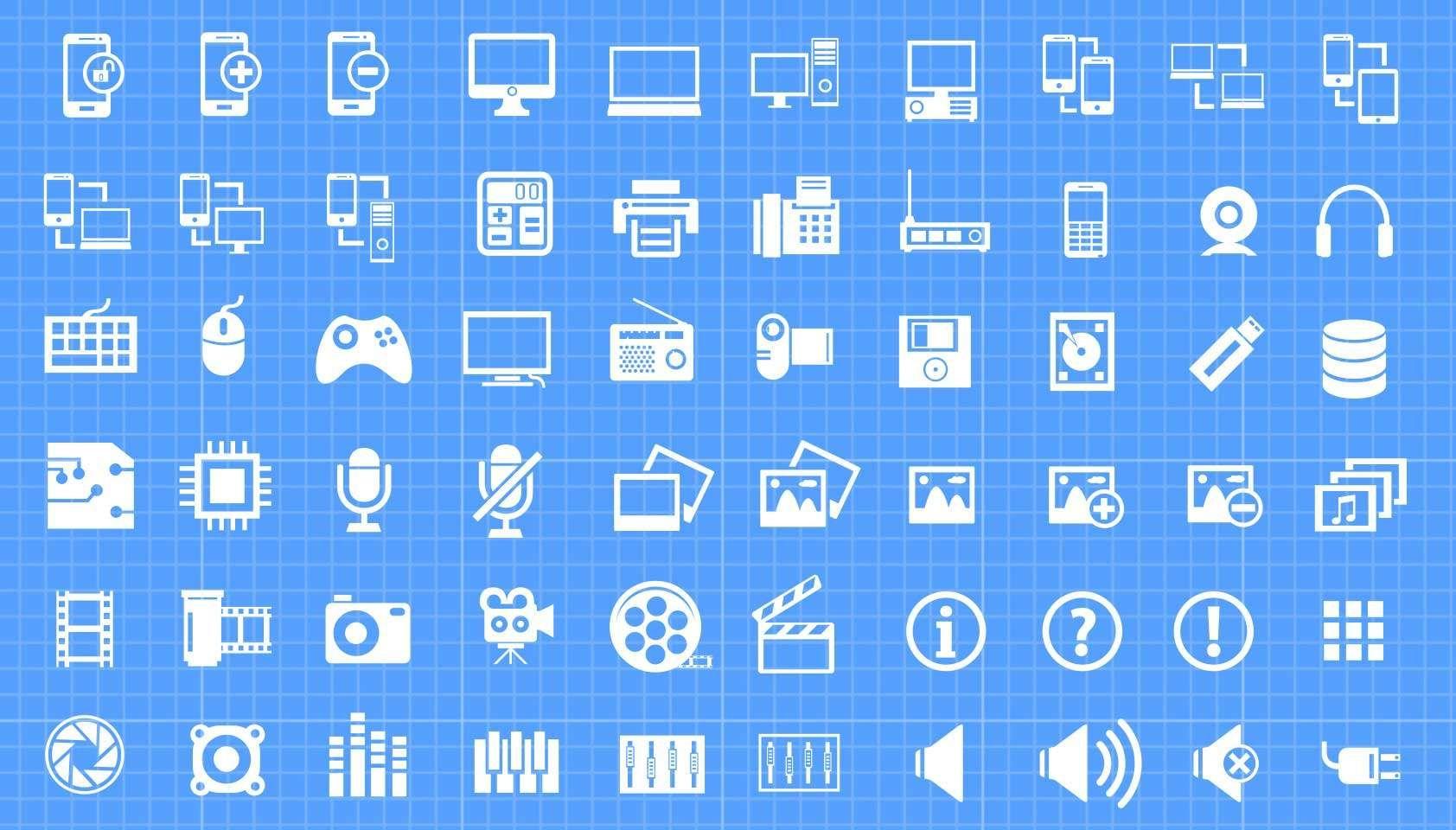 Free download: 500 Vector Mega Icon Pack | Iconos web y Free