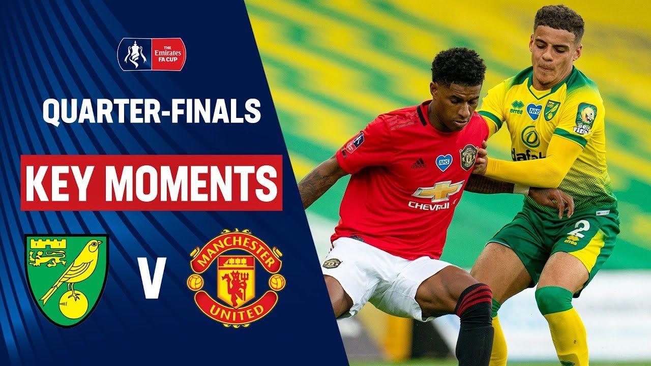Norwich City vs Manchester United Key Moments Quarter