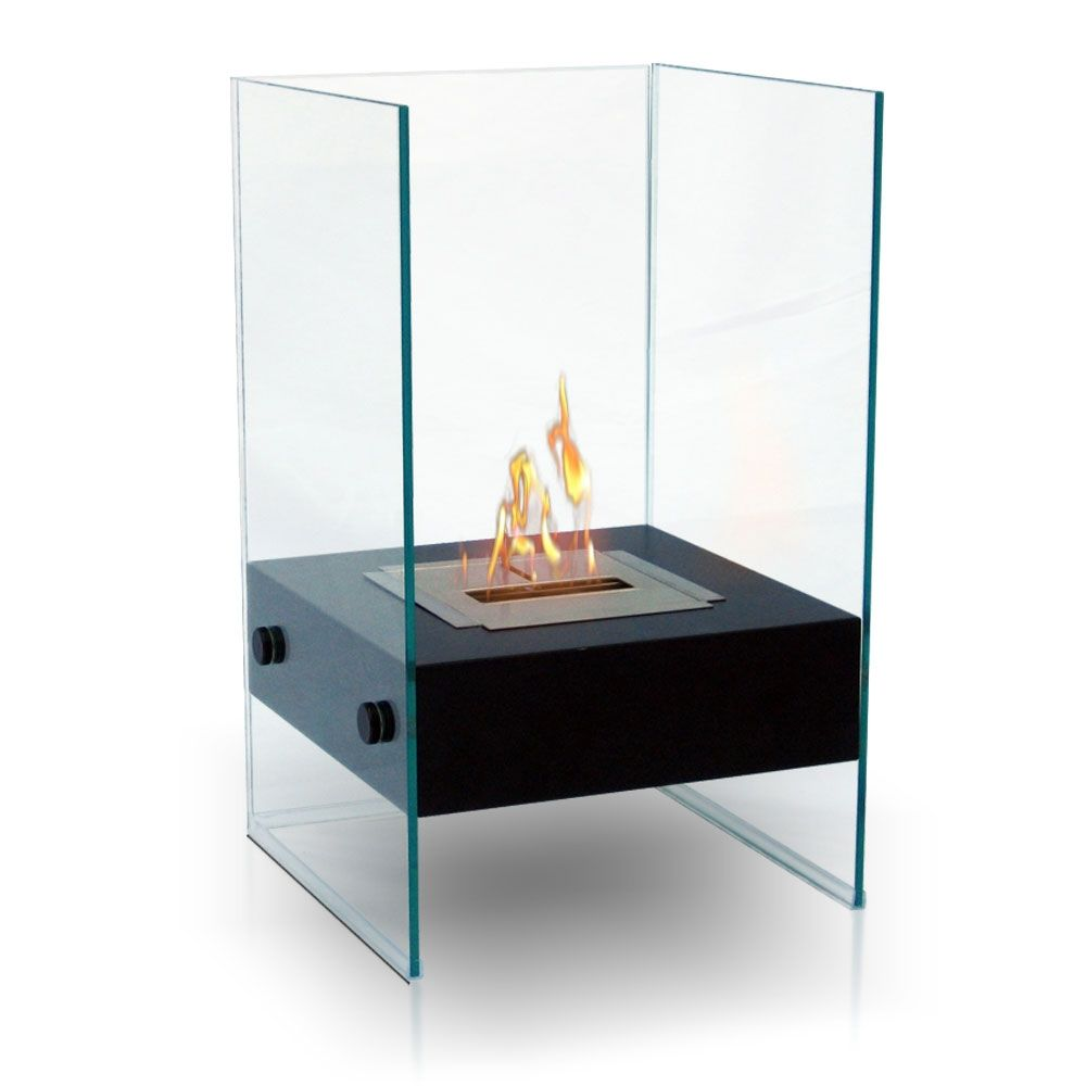 Outdoor Fireplace >> Love this, so sleek and modern...