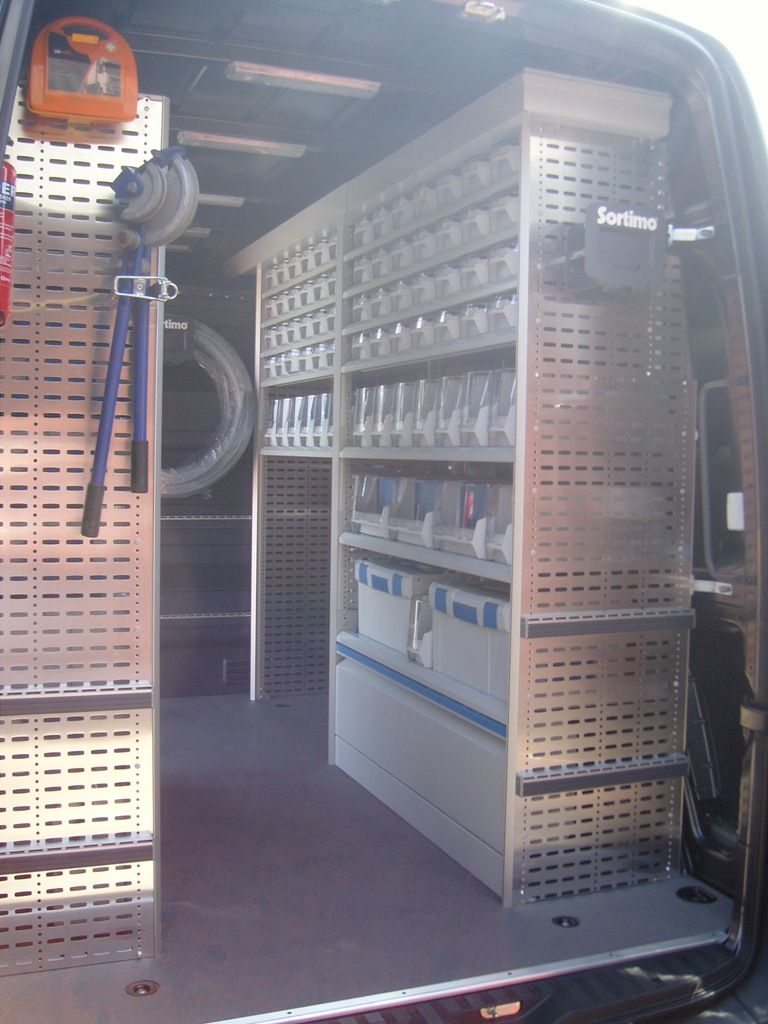 Mercedes Sprinter Vw Crafter Sortimo Racking Conversion At Lye Woodshop Pinterest Vw