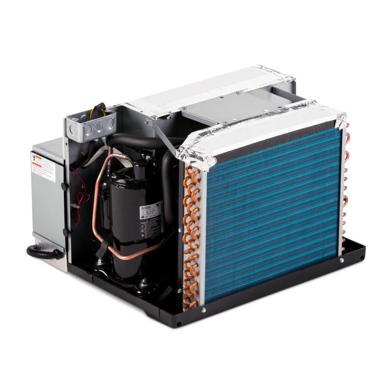 Heat And Cool Small Areas The Compact And Versatile Heat Pump Is Designed For Installation In Small Spaces Heat Pump Rv Air Conditioner Washable Air Filter