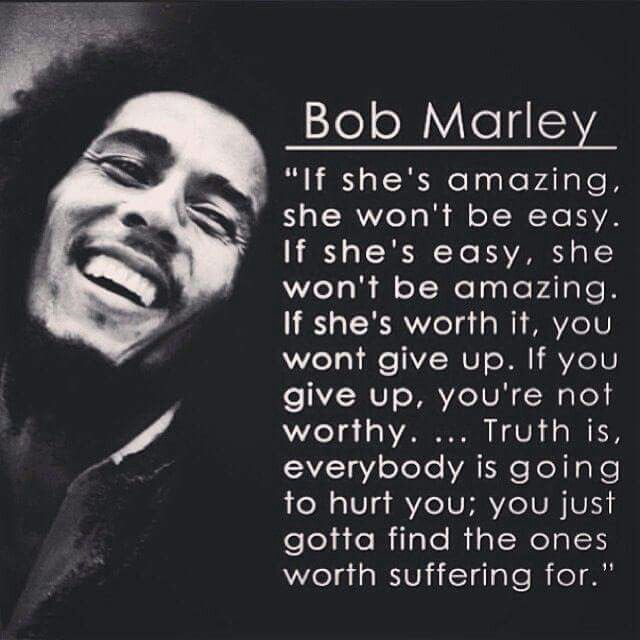 Word up Mr. Marley ♡