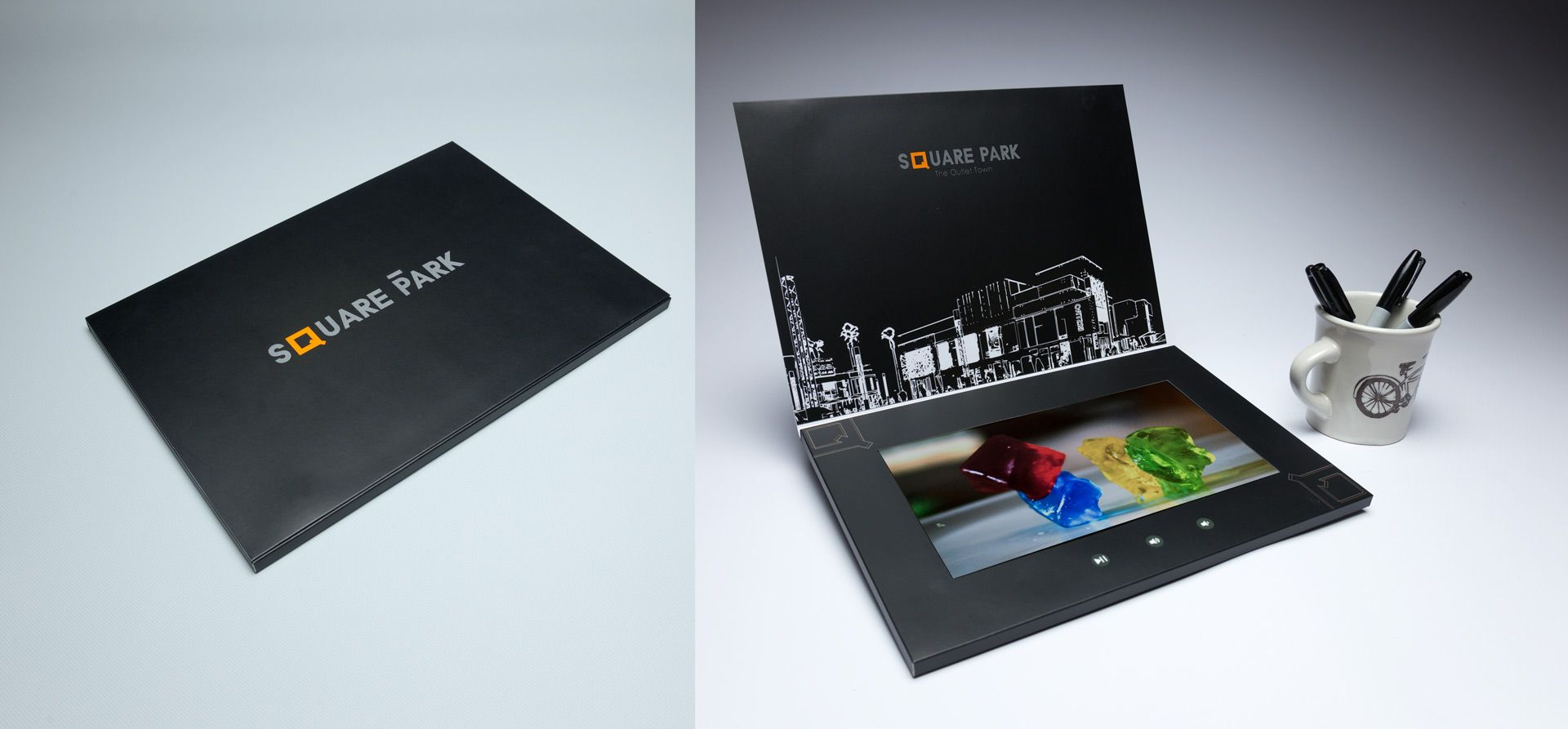 Pin By Structural Graphics On Video In Print Video Brochure How To Memorize Things