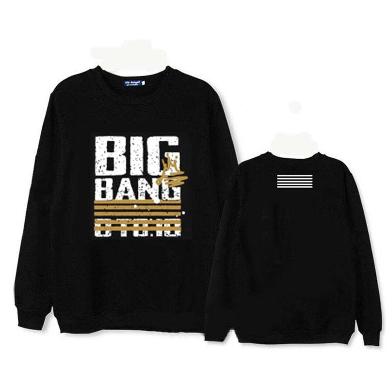 >> Click to Buy << 2017 KPOP Long Sleeve Sweatshirts Korean BIGBANG 10th Anniversary Album Hoodie K-POP Cotton Hoodies Clothes Pullover Printed  #Affiliate
