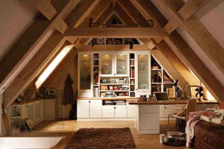 Looks So Cozy Attic Remodel Attic Rooms Attic Design