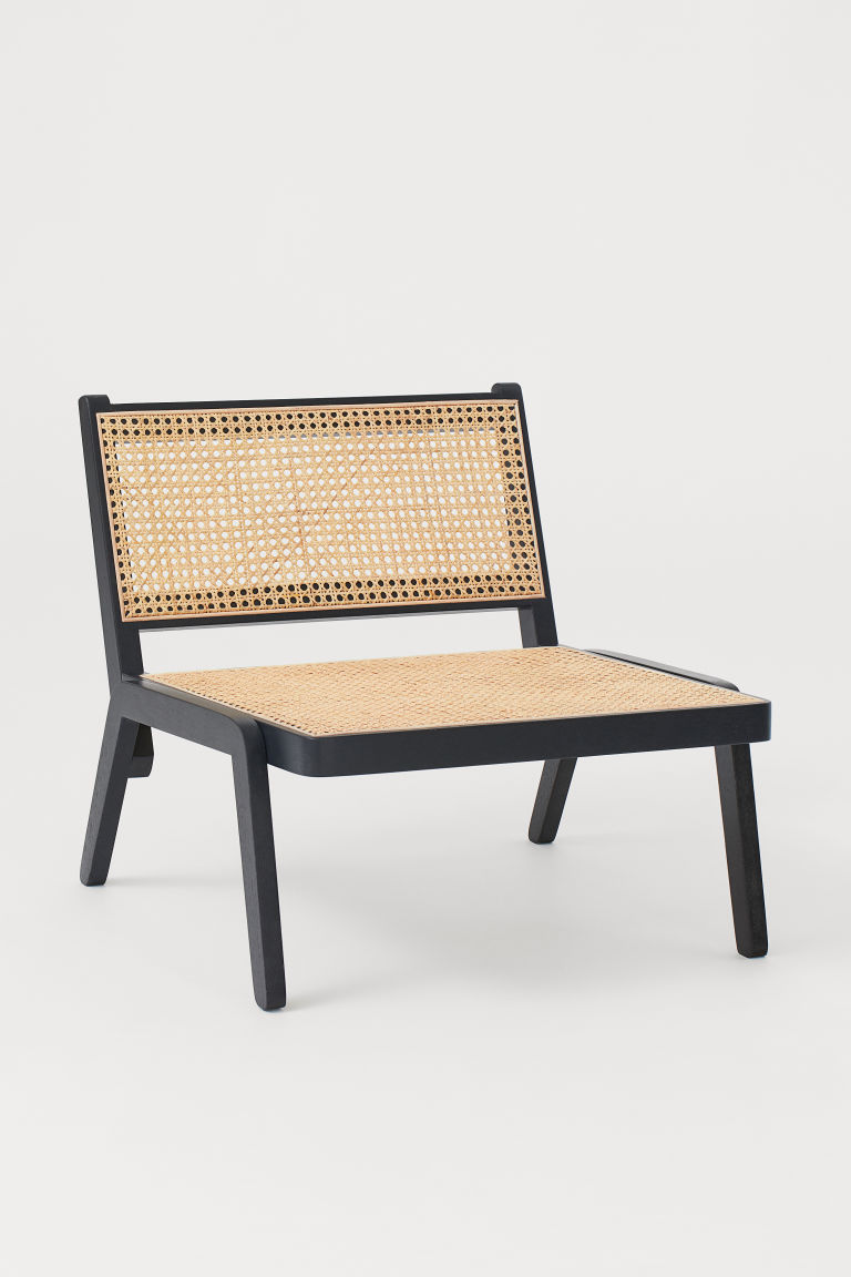 Low Lounge Chair Black Rattan H M Gb In 2020 Lounge Chair Chair H M Home