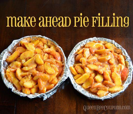 Freezer Pie: Freeze In Pie Plates, It's Ready