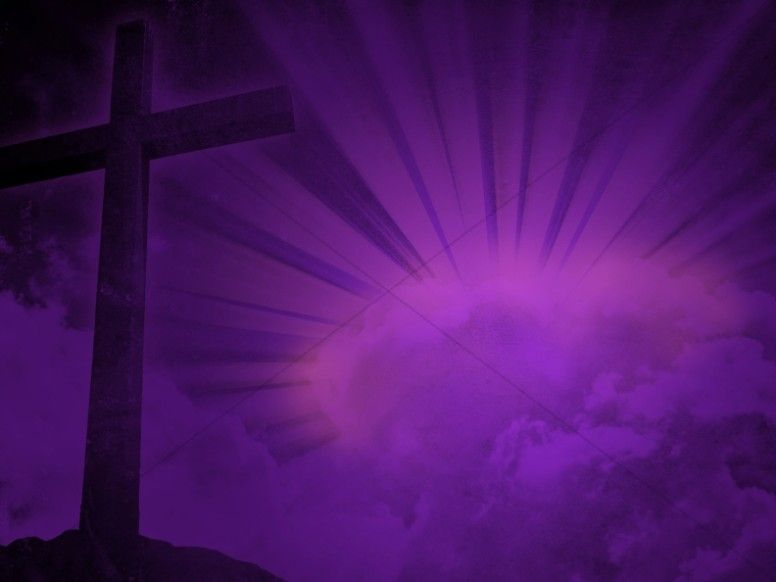 Cross Design Christian Background Purple Brilliance Worship Backgrounds Church Backgrounds Christian Backgrounds