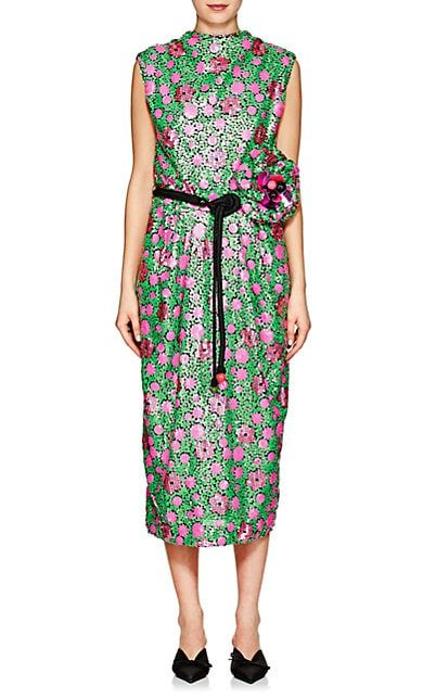 65e61eda5d2 Marc Jacobs Floral Sequined Dress - Dresses - 505623652