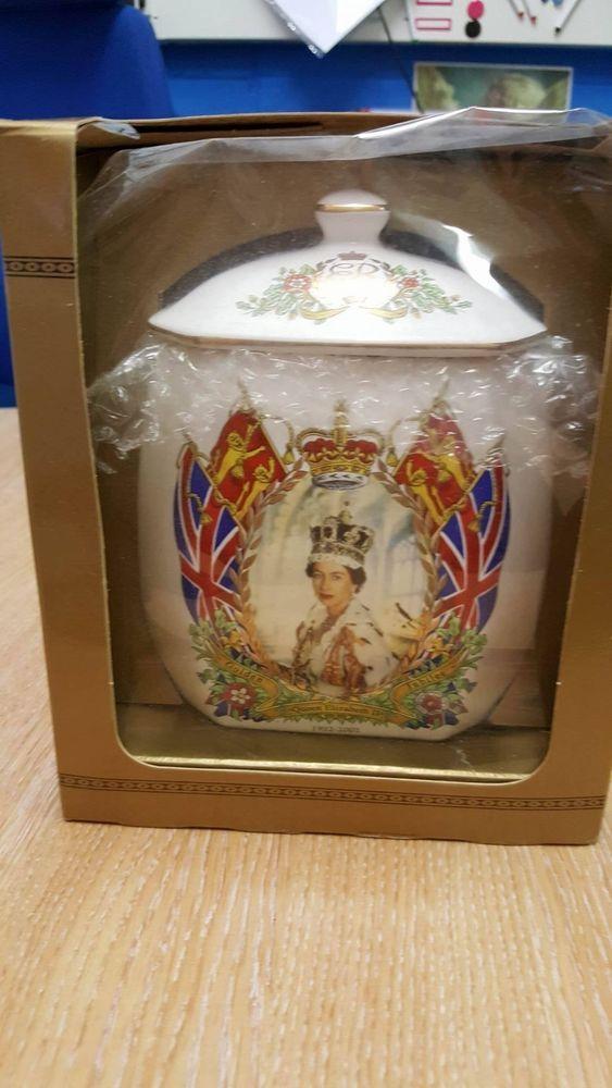 Ringtons Queen Elizabeth II Golden Jubilee Tea Caddy Still Boxed
