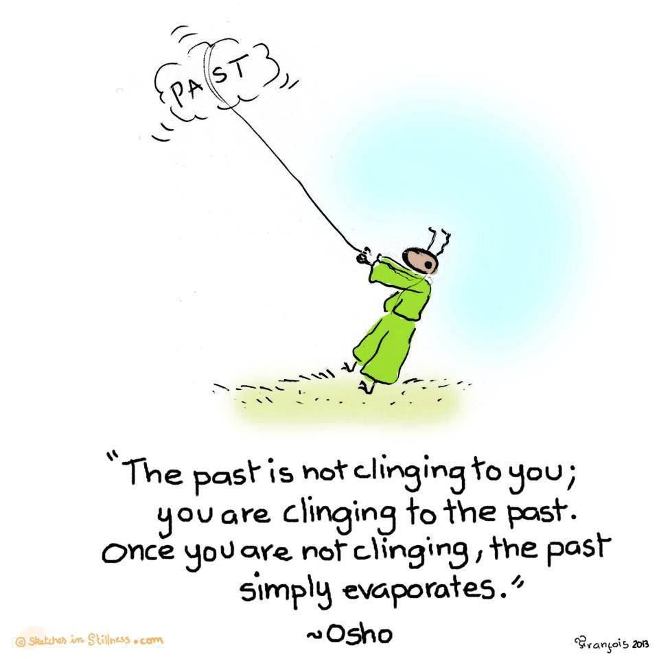Letting go -