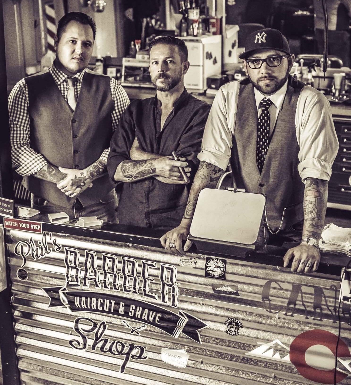 Shooting In Canon City Colorado: The Barber Shop Mafia @ Phils Barber Shop, Canon City