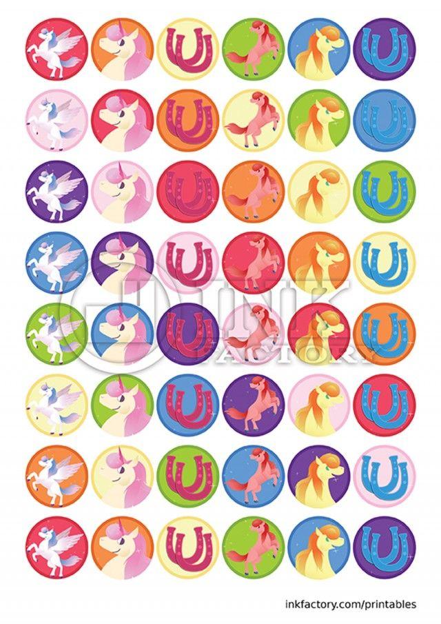 Unicorn Reward Chart Stickers