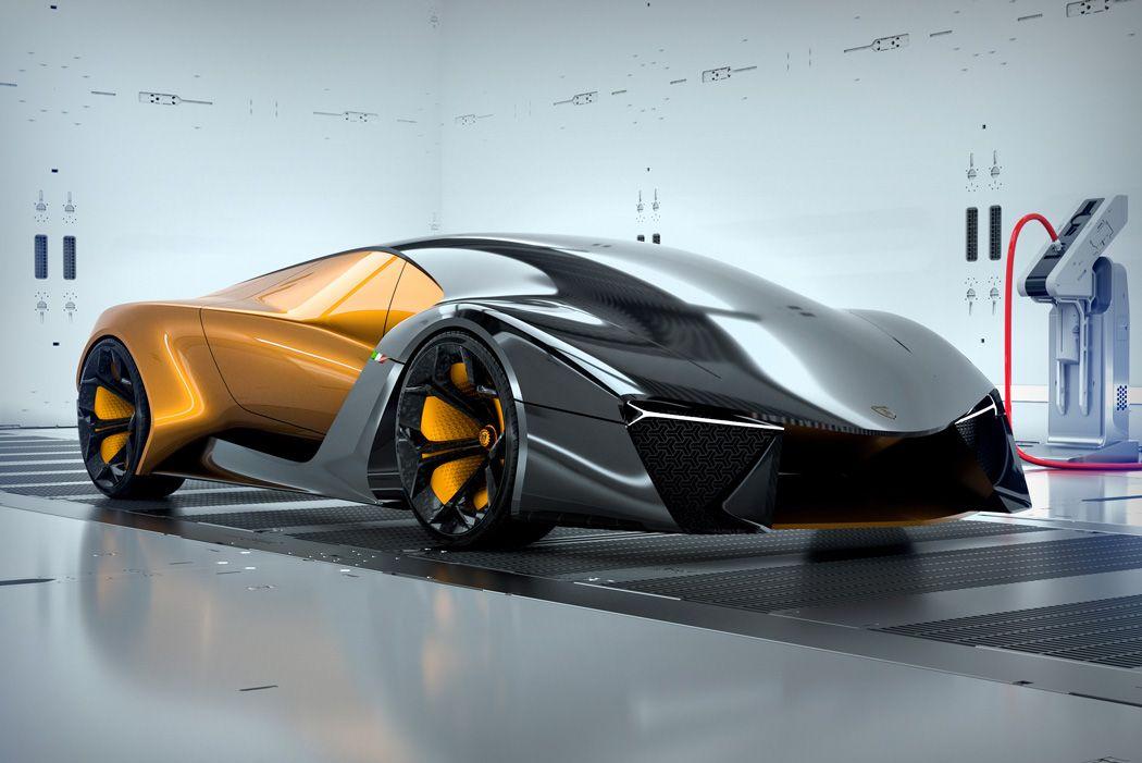 There S No Fighting This Bull Yanko Design Future Concept Cars Lamborghini Concept Futuristic Cars
