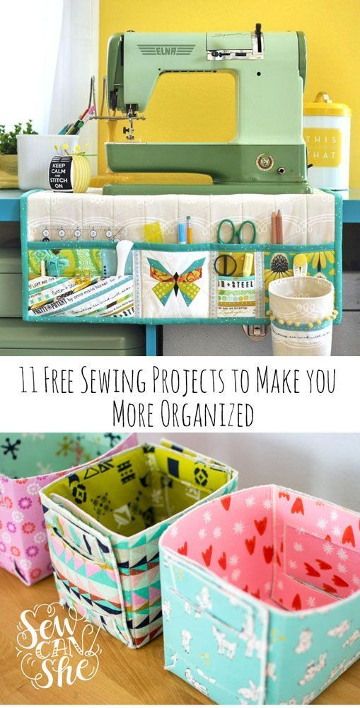 11 Best Free Sewing Projects to Make You More Organized  SewCanShe  Free Sewing Patterns and Tutorials  11 Free Sewing Projects to Make You More Organized  SewCanShe  Fre...