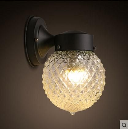 America Nordic Rustic Led Wall Lamp For Home Lampe Vintage Wall