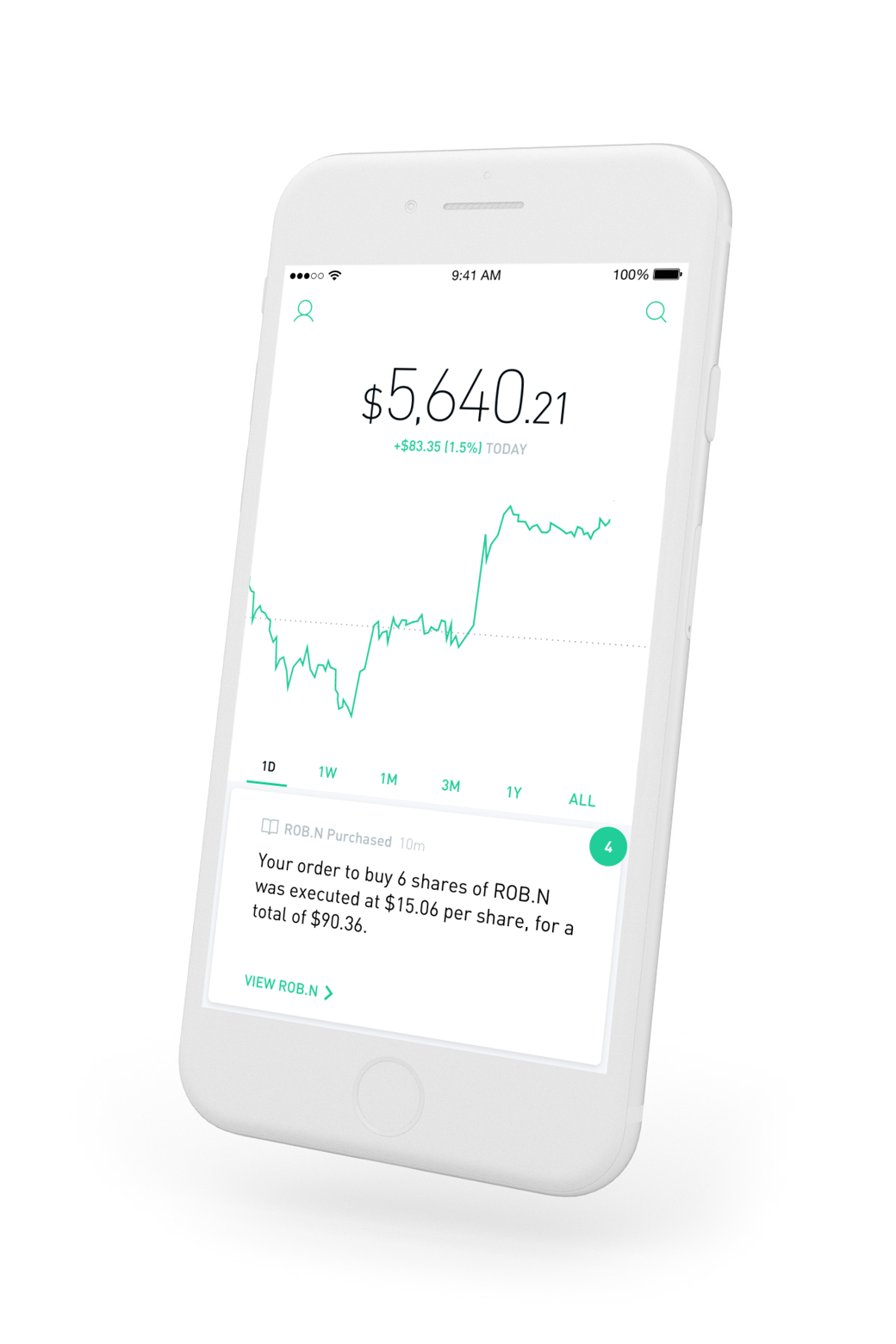 Robinhood Invest for Free This app is really awesome