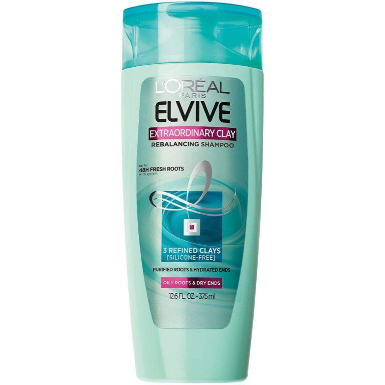 L Oreal Extraordinary Clay Shampoo For Oily Hair Drugstore Shampoo Good Shampoo And Conditioner Greasy Hair Hairstyles