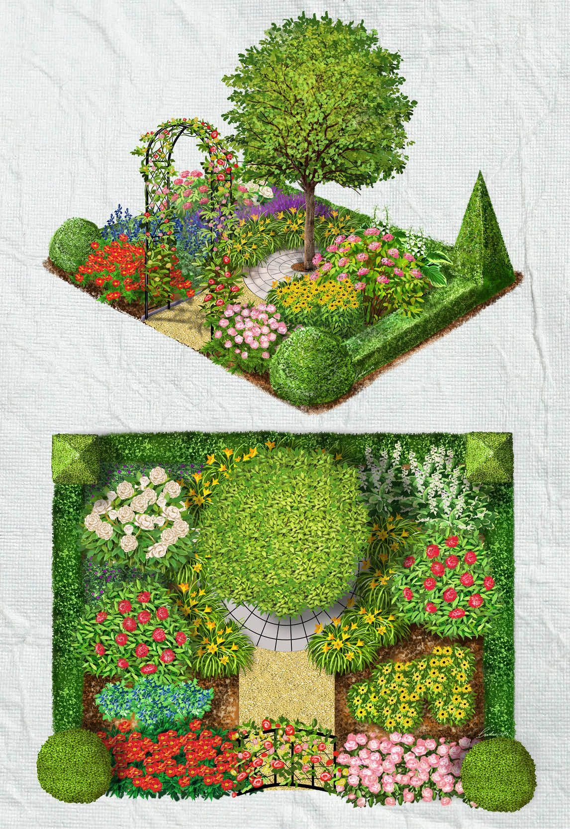 Advice For Growing Beautiful Flowers Produce And Other Plants Useful Garden Ideas And Tips Garden Design Plans Hard Landscaping Ideas Garden Design