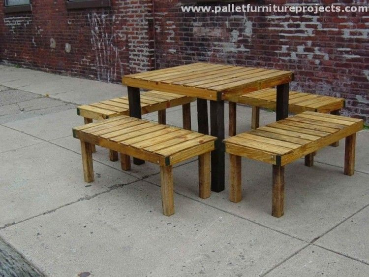 Furniture Made From Pallets Part - 26: Lounge Furniture Made From Pallets