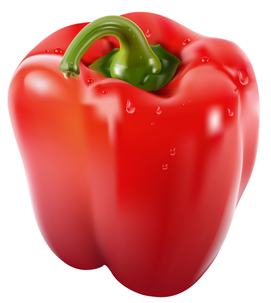 Transparent Red Pepper Png Clipart Picture Stuffed Peppers Fruits And Vegetables Images Vegetables