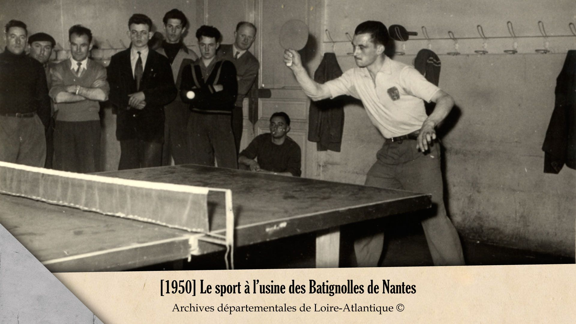 le sport l usine des batignolles de nantes 1950 archives d partementales de loire atlantique. Black Bedroom Furniture Sets. Home Design Ideas