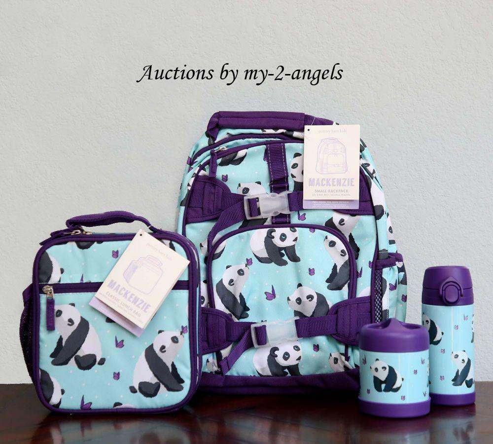 Ebay Sponsored Pottery Barn Kids 4 Pc Aqua Panda Small