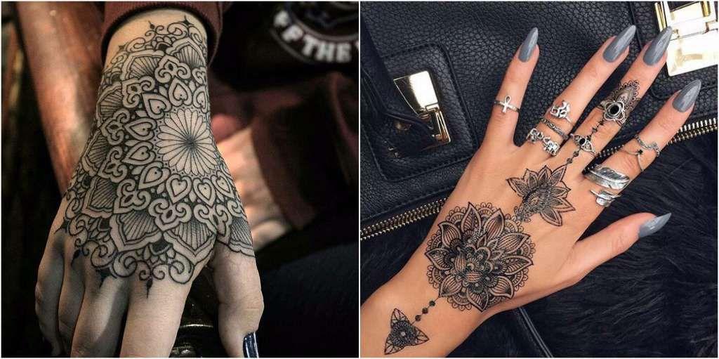 Tatuajes Mandalas Mano Algún Día Pinterest Tattoos Hand
