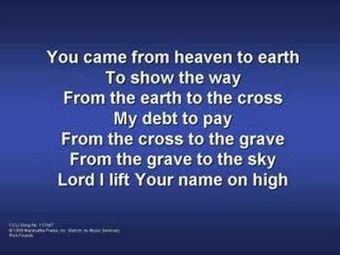 Lord I Lift Your Name On High (worship video w/ lyrics) - YouTube ...