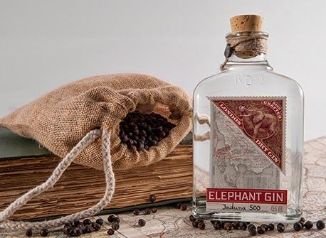 Elephant Gin. Drinking for a Cause.