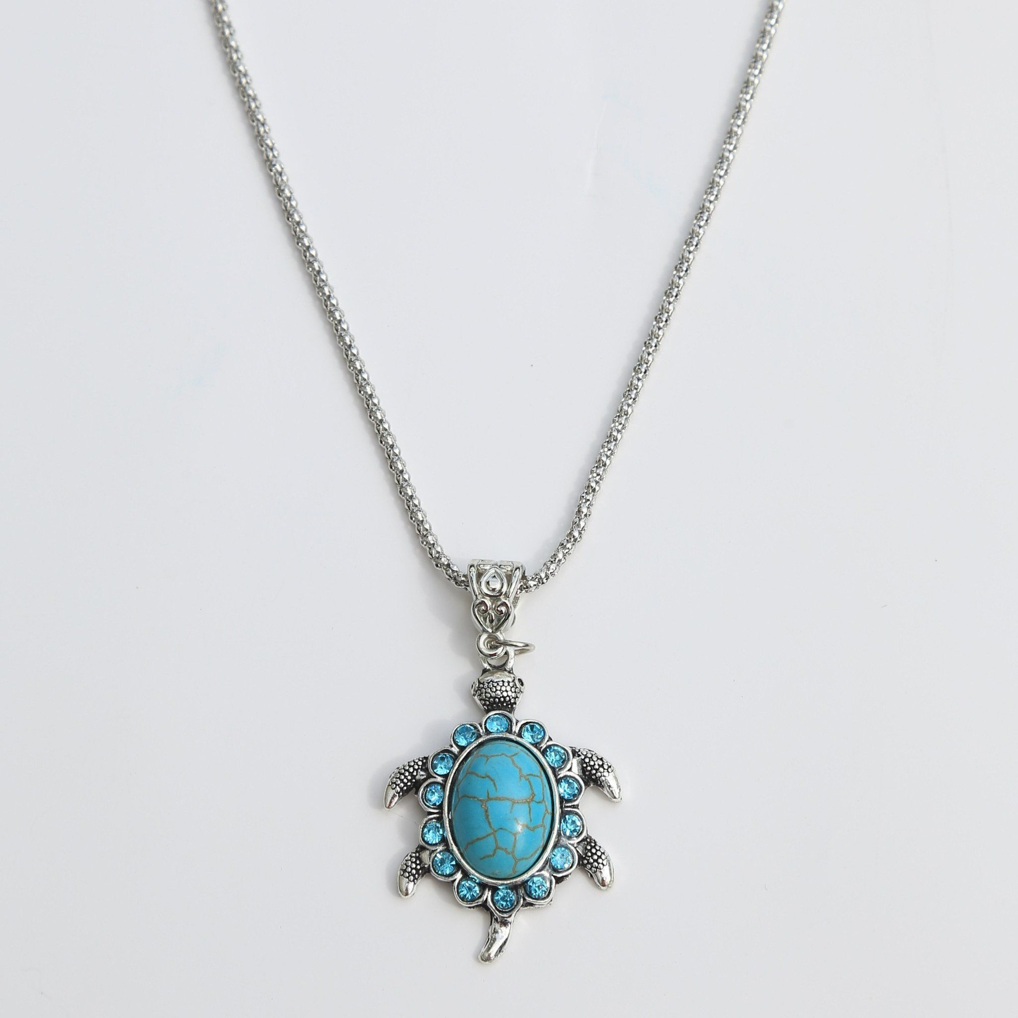 loggerhead product turtle necklace