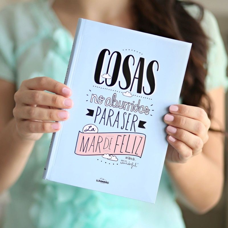 "Mr.Wonderful: Libro ""Cosas no aburridas para ser la mar de feliz"" #book"