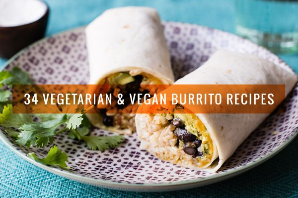 No matter what time of day it is, there's a vegetarian or vegan burrito recipe for you. (Including many tortilla-less options.)