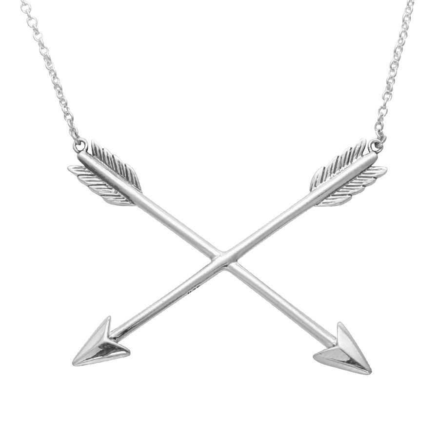 Crossed Arrows Necklace From Midsummer Star Arrowsgarden Waterfallarrow Necklaceroses Gardenboho Jewelrywaterfallsgarden