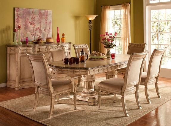 Empire 7Pcdining Set  Dining Sets  Raymour And Flanigan Entrancing Raymour And Flanigan Dining Room Set Design Inspiration