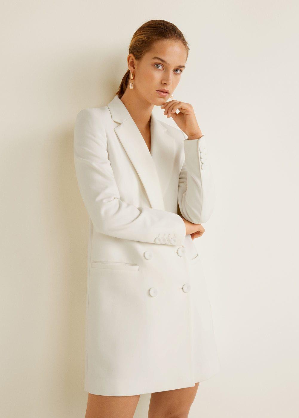 8aedb128ee Duplasoros gombolású kabát - Női in 2019 | Pretty Clothing ...