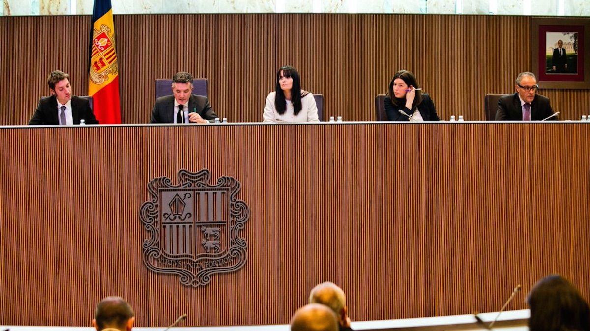 Consejo General de Andorra.