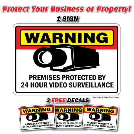 24 Off Was 16 99 Now Is 12 99 Security Surveillance Signs 1