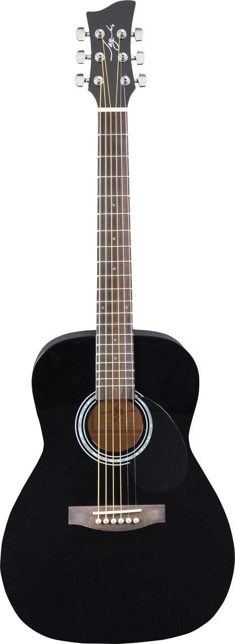 Jay Turser JJ43-BK 3/4 Acoustic Guitar Black