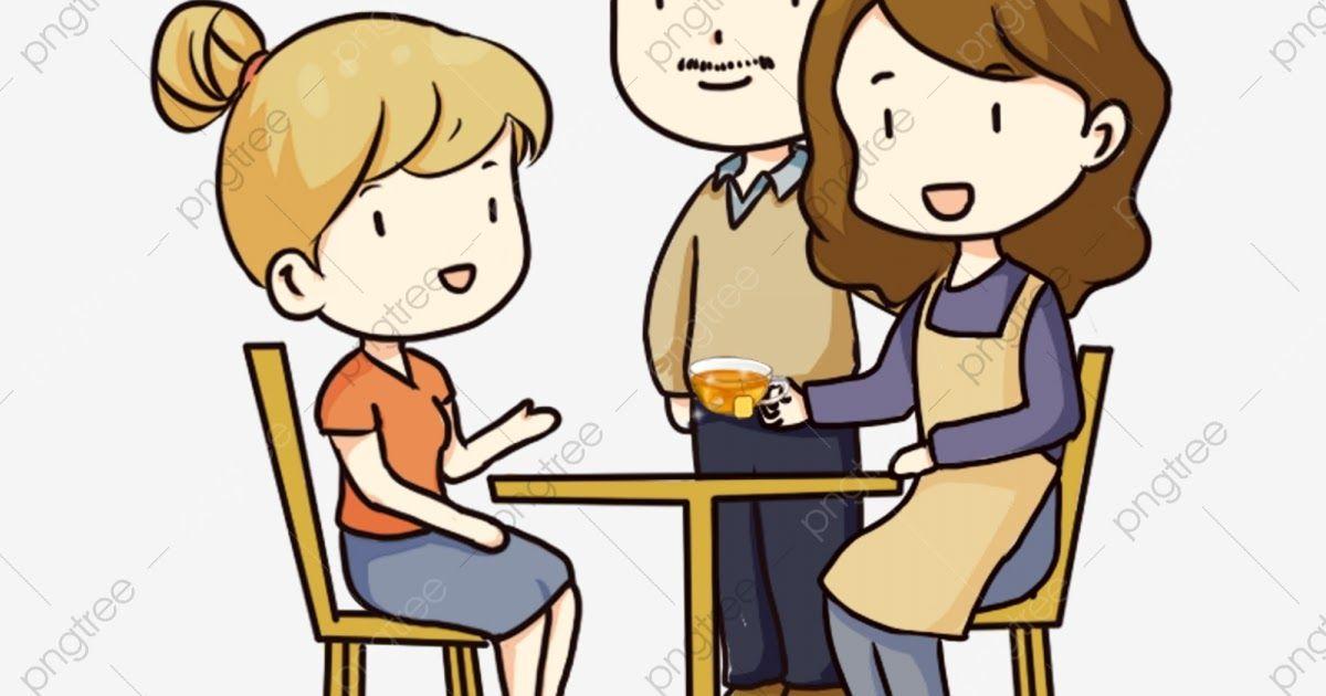 Terbaru 30 Gambar Kartun Anak Menghormati Orang Tua di ...
