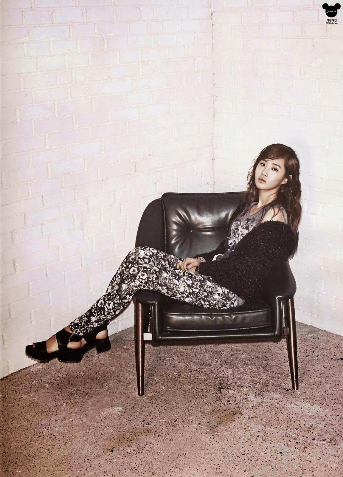 Girls' Generation's Yuri models for Harper's Bazaar magazine - Latest K-pop News - K-pop News   Daily K Pop News