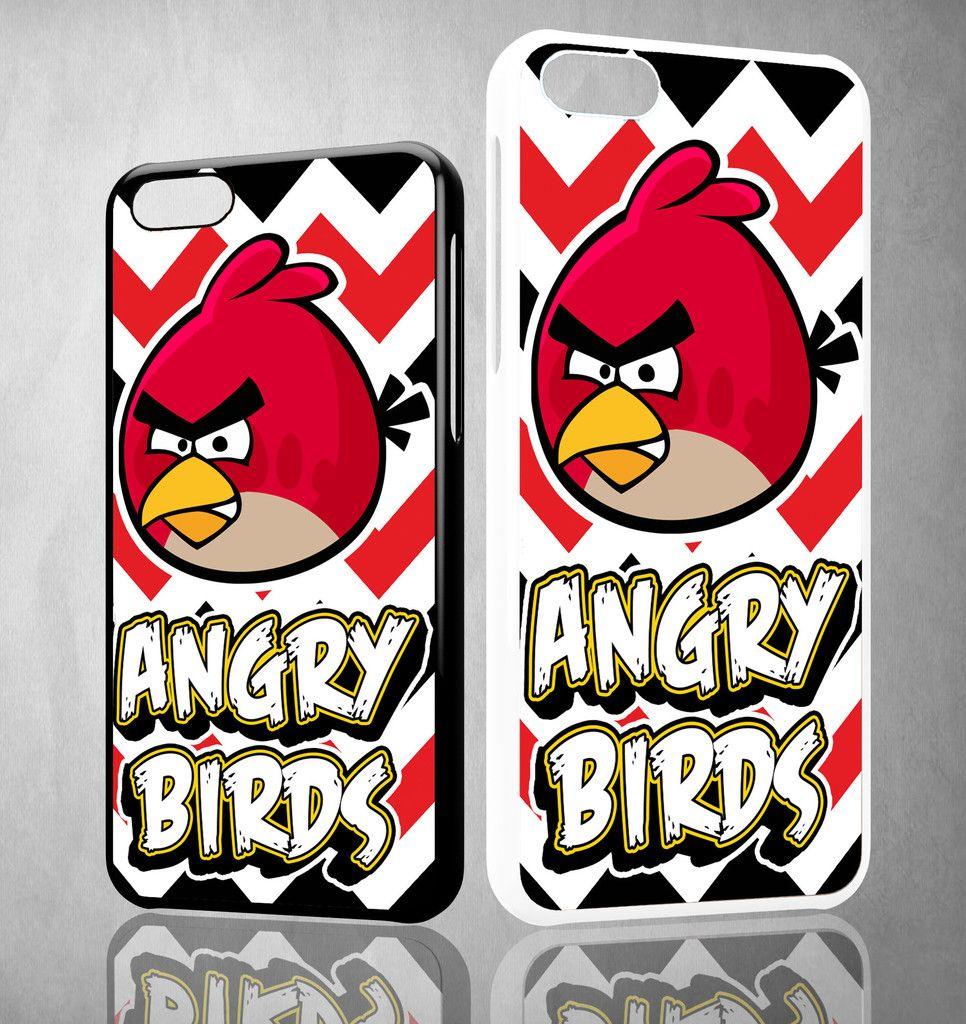 Angry Birds X0343 iPhone 4S 5S 5C 6 6Plus, iPod 4 5, LG G2 G3, Sony Z2 Case