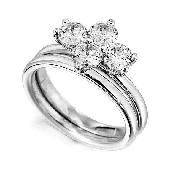 f394a936e8830 Serendipity Diamonds in 2019   Style   Diamond ring settings, Rings ...