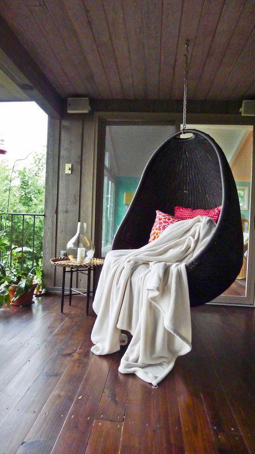 El discreto y sensual encanto de las sillas colgantes Casas de la